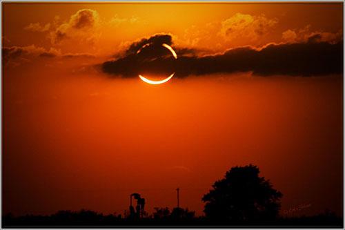 Imagen del eclipse por Erin Shaw