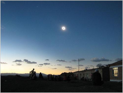 Eclipse solar en China por Bill Buckingham