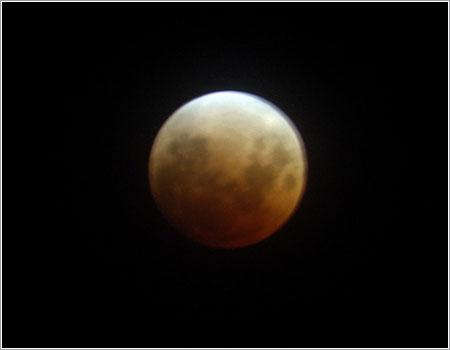 Eclipse de Luna 2008 por Antonella S. Smith