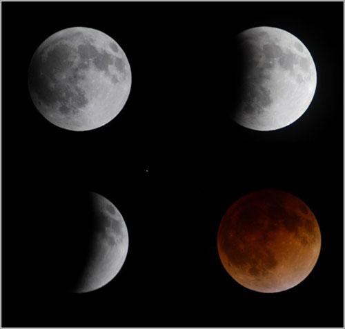 Fases del eclipse por David Dickinson