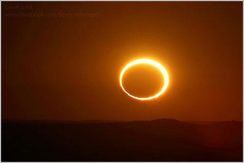 Eclipse de mayo de 2013 por Geoff Sims