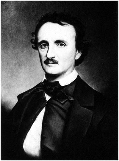 Edgar Allan Poe por Oscar Halling