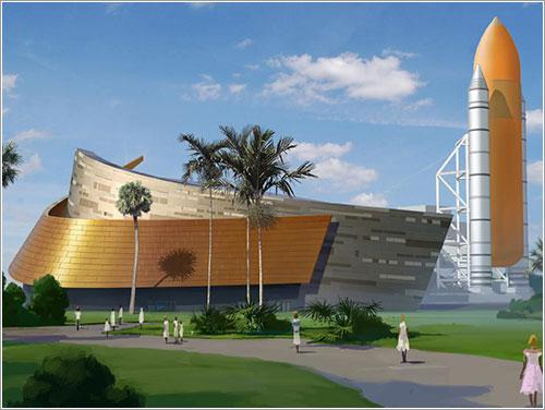 Edificio para el Atlantis