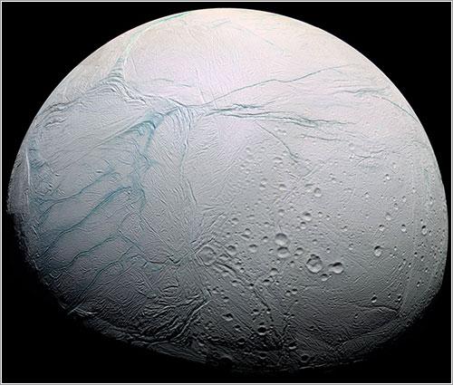 Las tiras de tigre de Encélado