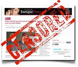 Enrique Dans censurado