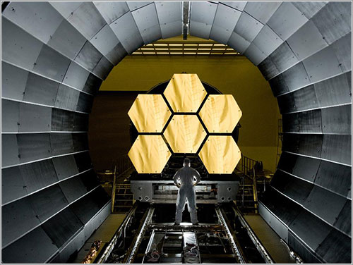 Next Generation Space Telescope - NASA/MSFC/David Higginbotham