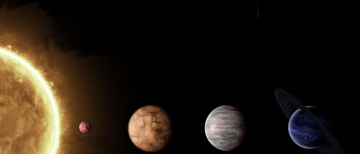 Estrella Cervantes y sus planetas