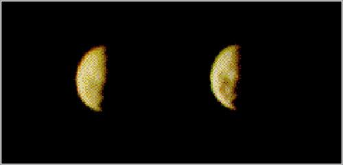 Europa (la luna de Júpiter) en 1973