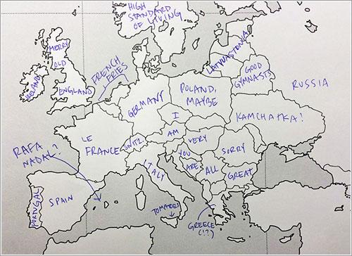 Una versión de Europa