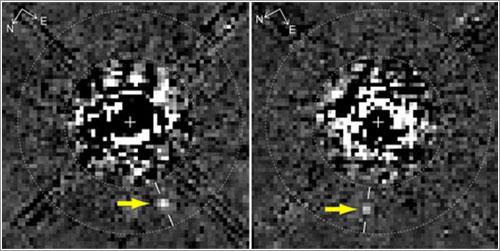 Exoplaneta «escondido» en los datos del Hubble - D. Lafrenière et al., ApJ Letters