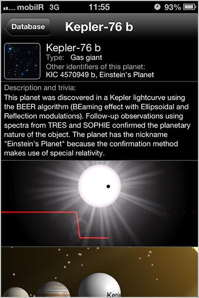 Kepler-76b en Exoplanet