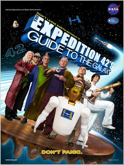 Póster de la Expedición 42