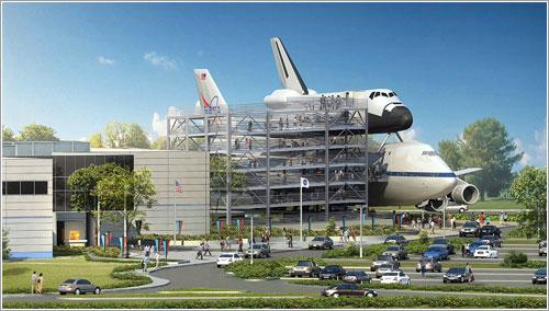 El Explorer, el NASA 905, y la estructura de acceso