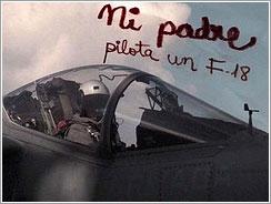 Mi padre y su F-18 Harrier