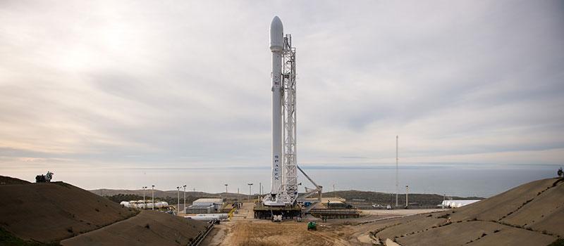Falcon9 que lanzará al Jason3