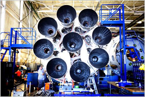 Los 9 motores de la primera etapa