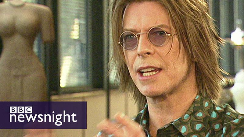 David Bowie anticipando el futuro de internet en 1999