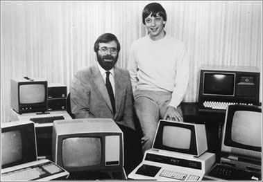 Allen y Gates en 1982