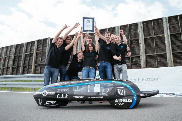 Récord Guinness coche electrico más eficiente