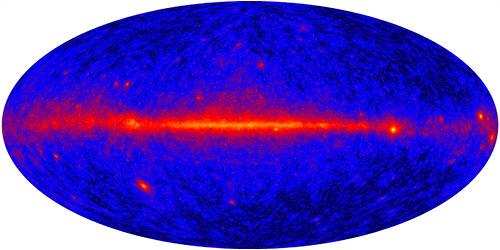 Primera imagen del GLAST - NASA