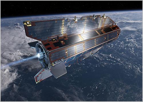 El satélite GOCE en órbita - ESA