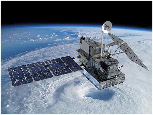 El GPM Core Observatory en órbita
