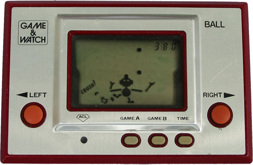 Game & Watch Ball de 1980