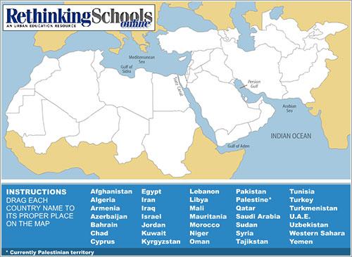 África del Norte y Oriente próximo - Rethinking Schools