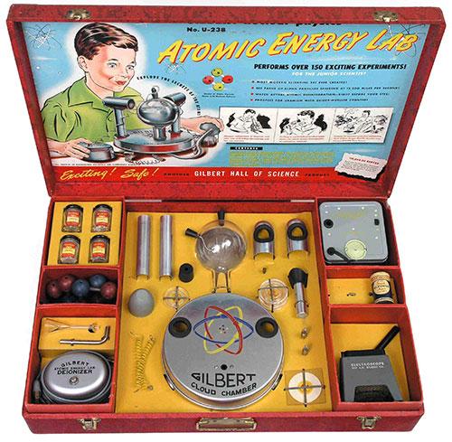 Laboratorio atómico Gilbert U-238