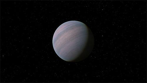 Impresión artística de Gliese 581d