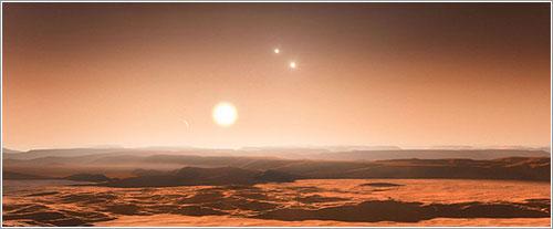 Impresión artística de Gliese 667C