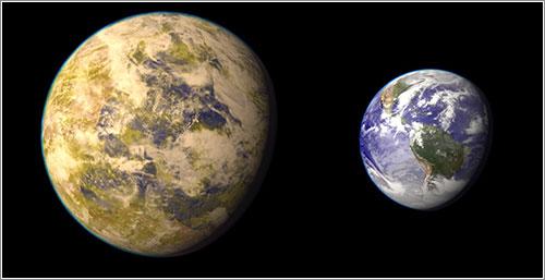 Gliese 832 c y la Tierra
