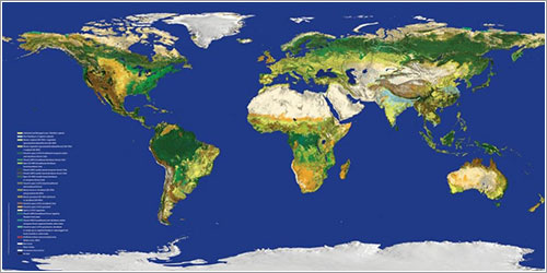 GlobCOVER 2009