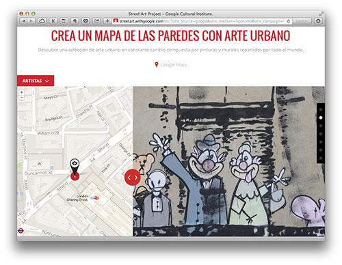 Google recopila el arte callejero del mundo en el Street Art Project