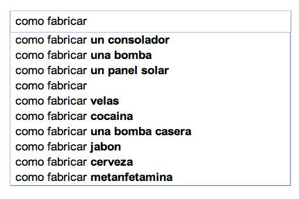 Resultados no filtradospor Google