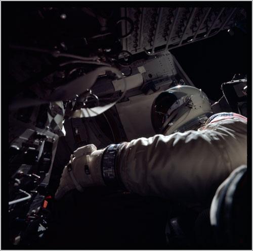 Richard Gordon en la Gemini XI