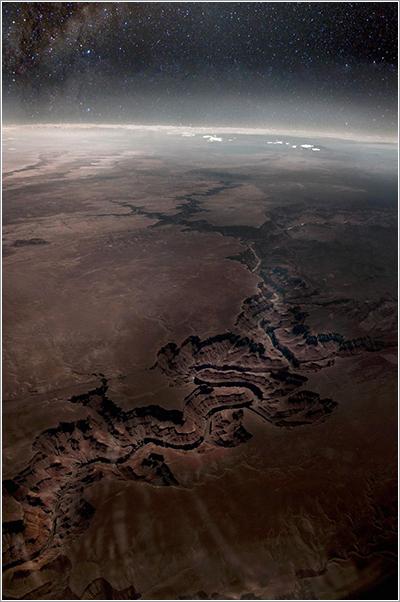 El Gran Cañón phoshopeado por Travis Odgers