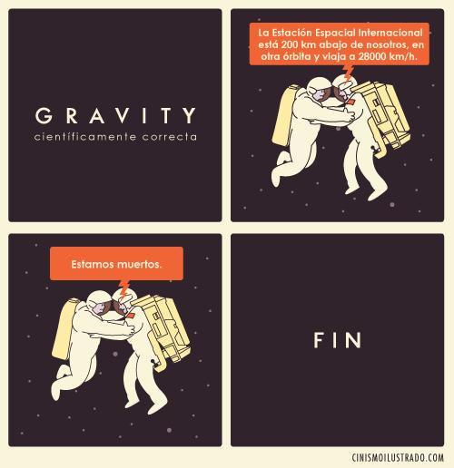 Gravity científicamete correcta por Eduardo Salles