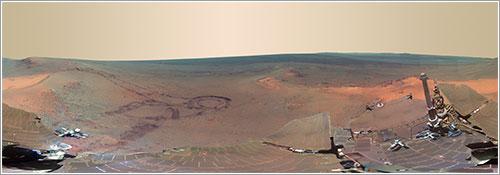 Greeley Panorama - NASA/JPL-Caltech/Cornell/Arizona State Univ.
