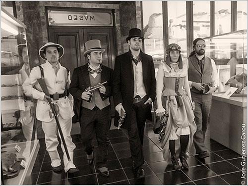 Grupo steampunk