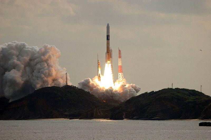 Lanzamiento de la sonda Hayabusa 2