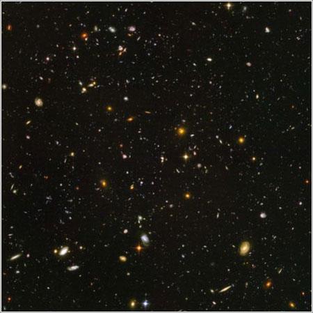 Campo Ultra Profundo del Hubble
