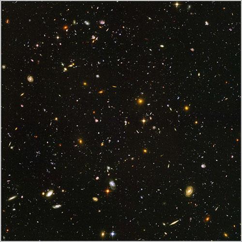Somos mucho menos que un grano de arena en el universo