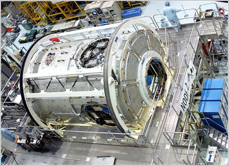 Harmony en construcción / NASA