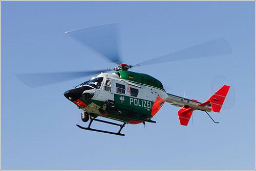 Helicóptero en vuelo