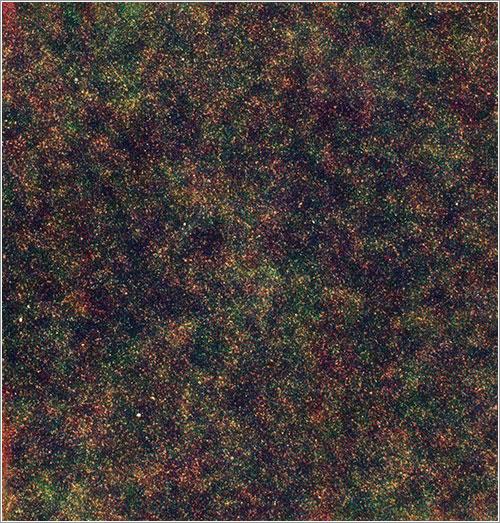 Star-forming galaxies like grains of sand - ESA & SPIRE Consortium & HerMES consortia