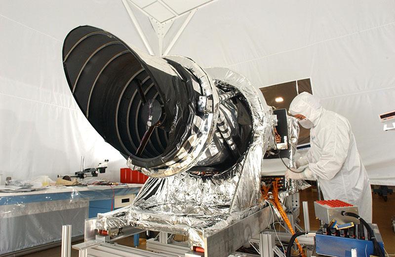 Ajustando la HiRISE