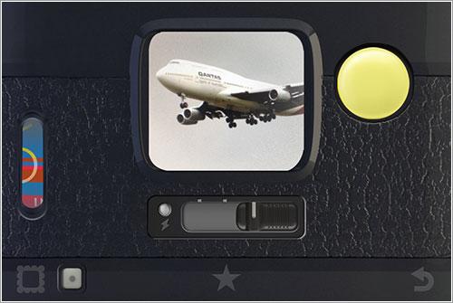 Hipstamatic y un 747