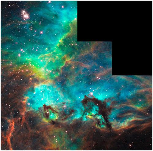 100.000 órbitas del Hubble - NASA, ESA, y M. Livio (STScI)