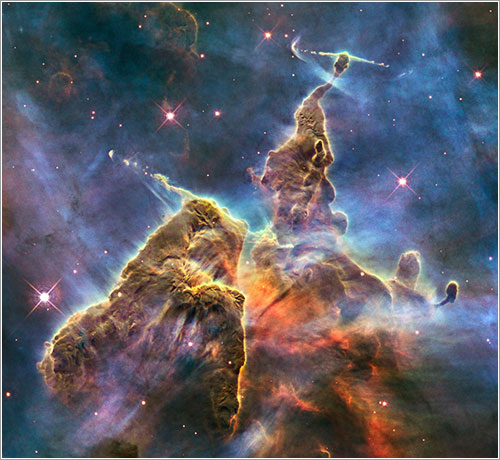 Imagen del 20 aniversario del Hubble - NASA, ESA, and M. Livio and the Hubble 20th Anniversary Team (STScI)